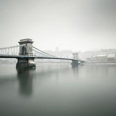 Urban winter scene