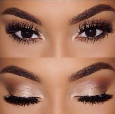 Eyemakeupart provides new eye makeup tutorial. How to make up your eye and how to do special design your eye. Bridal Eye Makeup, Wedding Hair And Makeup, Hair Makeup, Eye Makeup For Prom, Summer Wedding Makeup, Eyelashes Makeup, Natural Eyelashes, Makeup Brush, Makeup Goals
