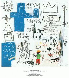 Jean-Michel Basquiat -The Pilgrimage by KBradshaw
