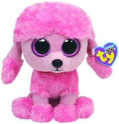 """Details about 10 """" Ty Beanie Boo's Baby Pink Poodle Puppy Dog """"Princess"""" Stuffed Animal Toy Ty Beanie Boos, Beanie Boo Dogs, Rare Beanie Babies, Ty Animals, Ty Stuffed Animals, Plush Animals, Stuffed Toys, Pink Poodle, Ty Peluche"""