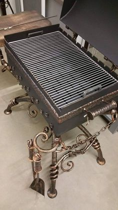 Barbecue Grill, Table, Furniture, Home Decor, Decoration Home, Room Decor, Tables, Home Furnishings, Home Interior Design