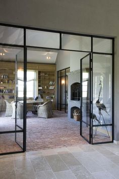 Wondrous French Industrial Kitchen Ideas - All For Decoration French Industrial, Industrial Windows, Industrial Apartment, Industrial Bedroom, Industrial House, Industrial Interiors, Industrial Chic, Industrial Furniture, Industrial Wallpaper
