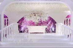 Voor BASMA Weddings maakten we een witte bloesemboom op maat.  Samen met de overige decoratie is het aangekleed tot een prachtig decor. www.decoratietakken.nl Seeds