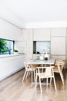 Schon Huis En Gezin, Keuken Interieur, Keuken Ideeën, Minimalistische Decoratie,  Sweet Home, Arquitetura, Keukens, Ideeën, Minimalistische Keuken,  Eetkamers, ...