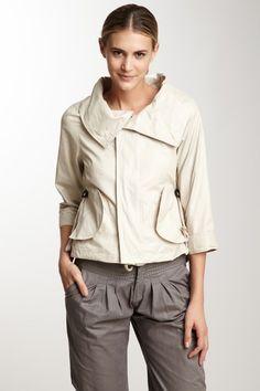 Laminated Hooded Jacket