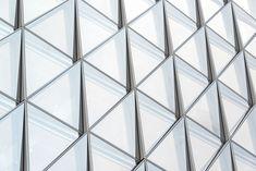 JTI Headquarters | SOM   #Geneva #Headquarter #officebuilding #SOM #Switzerland Architecture Magazines, Facade Architecture, Contemporary Architecture, Parametric Architecture, Luigi Snozzi, Glass Curtain Wall, Landscape Concept, Glass Facades, Building Facade