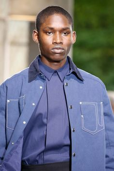 See detail photos for Givenchy Spring 2016 Menswear collection.