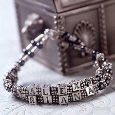 Name Bracelet fashion cute girl jewelry beads bracelet bead jewelry easy bead jewelry name bracelet