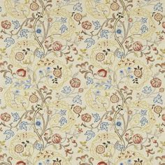 The Original Morris & Co - Arts and crafts, fabrics and wallpaper designs by William Morris & Company | Products | British/UK Fabrics and Wallpapers | Mary Isobel Embroideries (DM6E230340) | Archive Embroideries