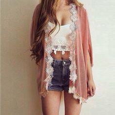 Cardigan mulheres Casual doce Floral Crochet malha blusa meia manga Batwing 2016 venda quente malha camisolas mais o tamanho S-XXL