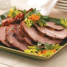Apricot & Mango-Glazed Ham Recipe from Taste of Home