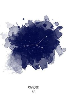 Cancer Constellation Cancer zodiac Zodiac by TelleQuelle on Etsy