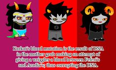 Not my personal Homestuck headcanon, but I find this interesting.