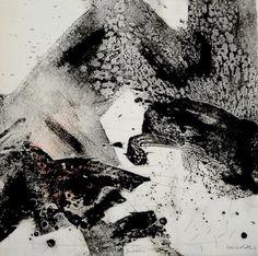 Ross Loveday - carborundum with drypoint monoprint