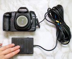 Canon EOS Foot Pedal Shutter Remote