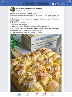 Braai Recipes, Brunch Recipes, My Recipes, Baking Recipes, Recipies, Favorite Recipes, Fun Foods To Make, Food To Make, South African Recipes