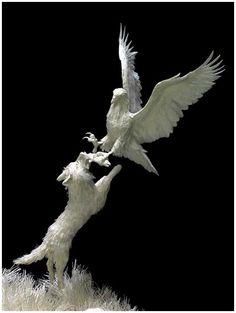 *Paper Sculpture by Patty & Allen Eckman