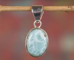 Silver Pendants – Larimar Pendant, 925 Silver Pendant, Bridal Gift – a unique product by Midas-Jewelry on DaWanda