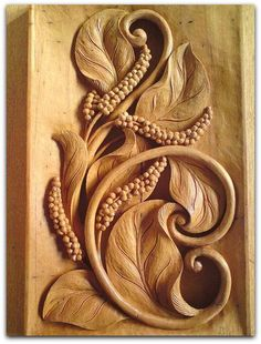 Pin by diy wood projects on woodworking ideas Wood Carving Designs, Wood Carving Art, Wood Carvings, Diy Wood Projects, Wood Crafts, Plaster Art, 3d Cnc, Chip Carving, Wooden Art