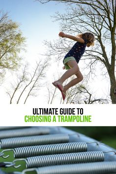 If you are looking for the best trampolines for kids, look no farther than this guide. It offers everything about choosing the right backyard trampoline for your kids Spring Free Trampoline, Fun Trampoline Games, Springless Trampoline, Best Trampoline Brand, Trampoline Reviews, Toddler Trampoline, Rebounder Trampoline, Trampoline Workout
