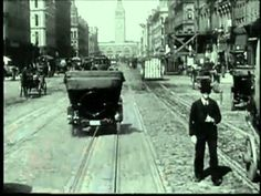 Trip down Markete Street in San Francisco in 1900 - before the fire. I've said this before: Love stuff like this. Amazing and unique insight in the street life dynamics back then. Simply Amazing!