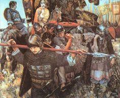 Russian painting: Battle of Kulikovo
