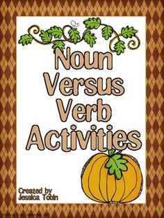 Nouns and Verbs activities $