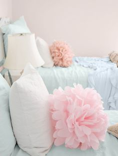 pillows for a little girl room