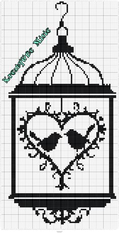 Cross Stitch Designs, Cross Stitch Patterns, Crochet Birds, Filet Crochet, Cute Drawings, Blackwork, Diy And Crafts, Quilts, Embroidery