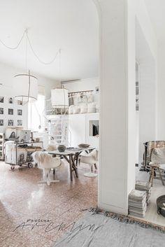 © Paulina Arcklin | Paulina Arcklin's unready Milano loft on process