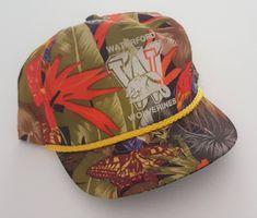 Vintage Waterford Wolverines Snapback Hat VTG f916d2747d0f