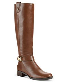 MICHAEL Michael Kors Boots, Charm Riding Boots. Hello beautiful! #shoes #boots #fashion