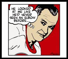 Gordie Howe - Mr. Hockey - Detroit Red Wings.