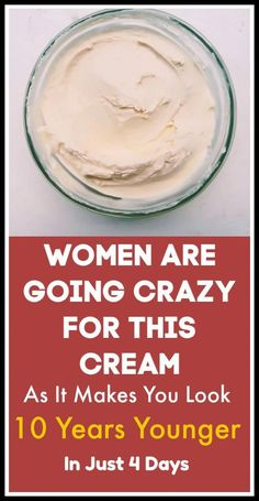 Beauty tips for skin - Women are going crazy for this cream as it makes you look 10 years younger in just 4 days Beauty Tips For Skin, Beauty Skin, Beauty Hacks, Diy Beauty, Face Beauty, Healthy Beauty, Homemade Beauty, Beauty Ideas, Beauty Secrets
