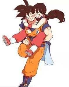 Dragon Ball Gt, Dragon Ball Image, Manga Anime, Anime Art, Fan Art, Anime Love, Akira, Anime Couples, Milk