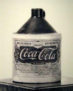 Coca-cola syrup, 1906