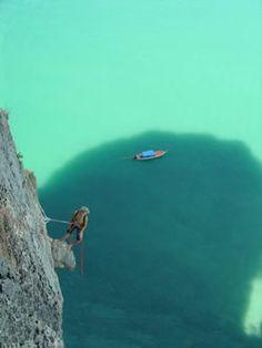 Rock Climbing Ao Laoliang Island, Trang, Southern Thailand