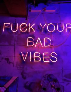 To the one asshole last night. ~ETS #neon