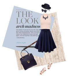 """""""Untitled #1050"""" by justange ❤ liked on Polyvore featuring WearAll, Miu Miu and Brooks Brothers"""