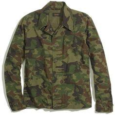 MADEWELL Chimala® Camo Jacket ($529) ❤ liked on Polyvore