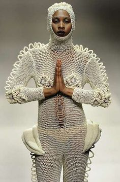 """Leandro Cano. (Another one from the Dept. of  """"Just because you can knit it, doesn't mean you should wear it."""")"""