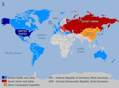 United States Cold War Propaganda | Cold War : It is a war fought mostly with words and money instead of ...