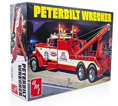 AMT Peterbilt 359 Wrecker Model Kit - 1/25 Scale Buildable Tow Truck for Kids and Adults (AMT1133) AMT Tow Truck, Trucks, Peterbilt 359, Hobby Toys, Diecast, Scale, Gift Registry, Kit, Model