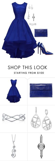 """""""FDWN"""" by charactertickles ❤ liked on Polyvore featuring Christian Louboutin, Nancy Gonzalez, BERRICLE, Effy Jewelry, Sirena and Marc by Marc Jacobs"""
