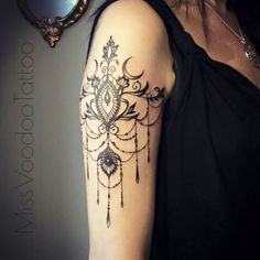 awesome Elegant Lace Tattoo Designs That Any Girl Would Love Tattoo Und Piercing, Tattoo On, Lace Tattoo, Armband Tattoo, Lotus Tattoo, Tattoo Dentelle, Tattoo Tree, Tattoo Black, Neue Tattoos