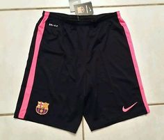 Rare NWT Authentic NIKE Barcelona FCB  Soccer Shorts  Men's Medium