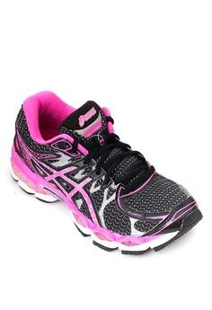 Gel Nimbus 16 Lite Running Shoes from Asics in black and pink and multi and silver_1