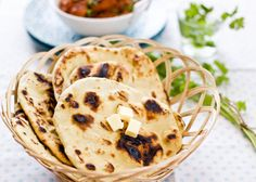 Naan is a popular Indian bread. This is an easy naan recipe that anyone can make at home. Fluffy and soft naan that goes great with Indian curry.