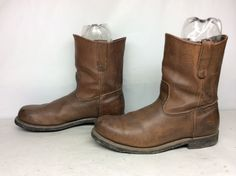 Red Wing Shoes USA Made Mens 10.5 E Pecos 2231 Leather Steel Toe ...
