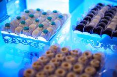 Detalhe bandejas mesa de doces